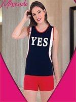 Комплект (майка, шорты) H-411 Yes Missendo