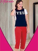 Комплект (футболка, бриджи) H-509 Yes Missendo