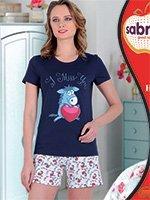 Комплект (футболка, бриджи) 62809 Ослик Sabrina