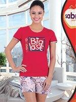 Комплект (футболка, бриджи) 62823 Big love Sabrina