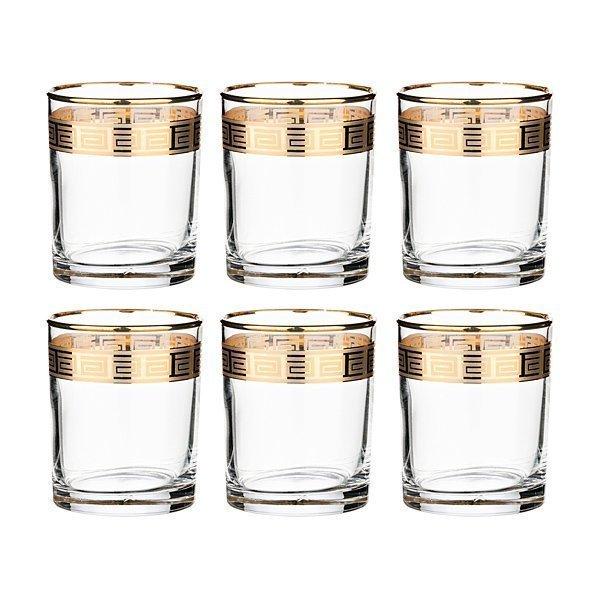 """Набор стаканов для воды 484-060""""Истамбул греция"""" из 6 шт. 255 мл"""