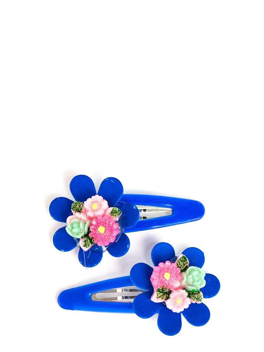 Заколка-зажим Цветок большой 2шт (48882)