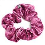 Резинка для волос большая бархат цветы (48892)