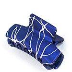 Заколка-краб пластик средний Узоры 1шт (48910)