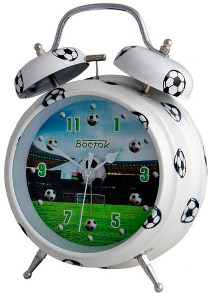FB-11 Футбол Будильник эл.механический Восток (47237))