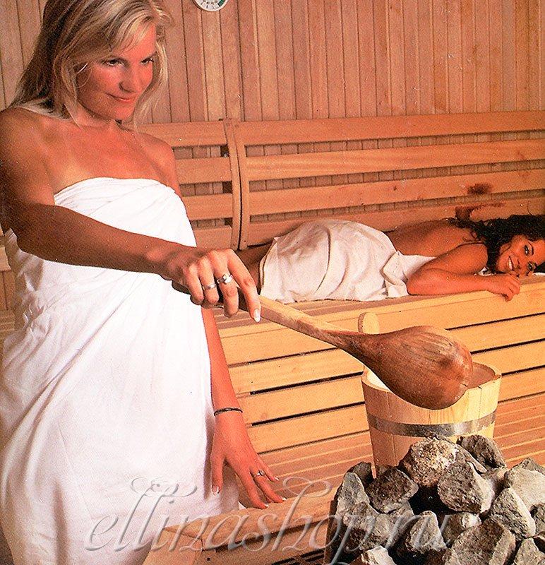 Бамбу 2-х предм. женский бамбуковый комплект для сауны