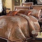 Жаккардовое постельное белье J-350 Karven