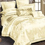 Жаккардовое постельное белье J-364 Karven