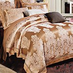 Жаккардовое постельное белье J-365 Karven