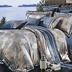Жаккардовое постельное белье J-372 Karven