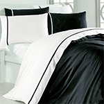 Комплект постельного белья Siyah Beyaz Karven