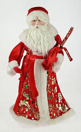 Дед Мороз с мешком новогодний сувенир, 75109 (52094)
