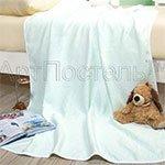Детское одеяло-покрывало Горизонт ментол Артпостель