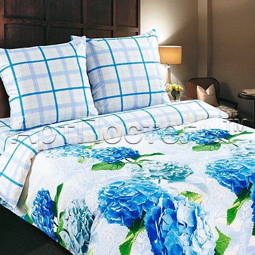 Гортензия постельное белье из поплина Артпостель