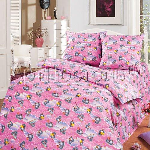 Подарок розовый - детское постельное белье Артпостель