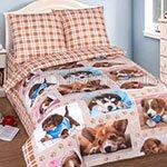 Детское постельное белье из бязи Тотошка Арт постель