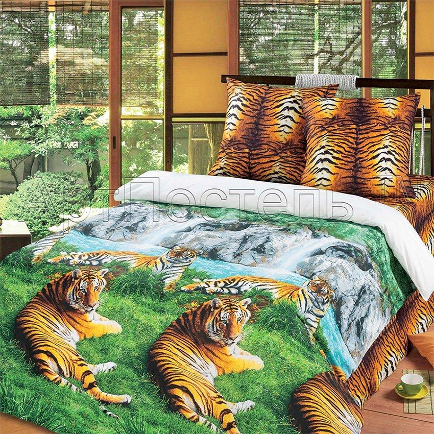 Волшебная долина постельное белье из бязи Артпостель