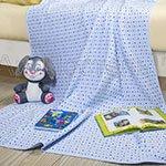 Детское одеяло-покрывало Звездочки голубые Артпостель
