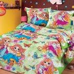 Детское постельное белье из бязи 023-bd Cleo