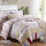 Комплект постельного белья из сатина SL-067 Cleo