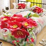 Комплект постельного белья из полисатина 087-PS Cleo