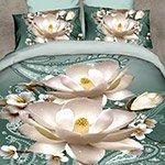 Комплект постельного белья из полисатина 093-PS Cleo