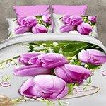 Комплект постельного белья из полисатина 095-PS Cleo