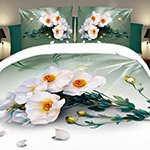 Комплект постельного белья из полисатина 096-PS Cleo