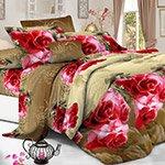 Комплект постельного белья из полисатина 097-PS Cleo