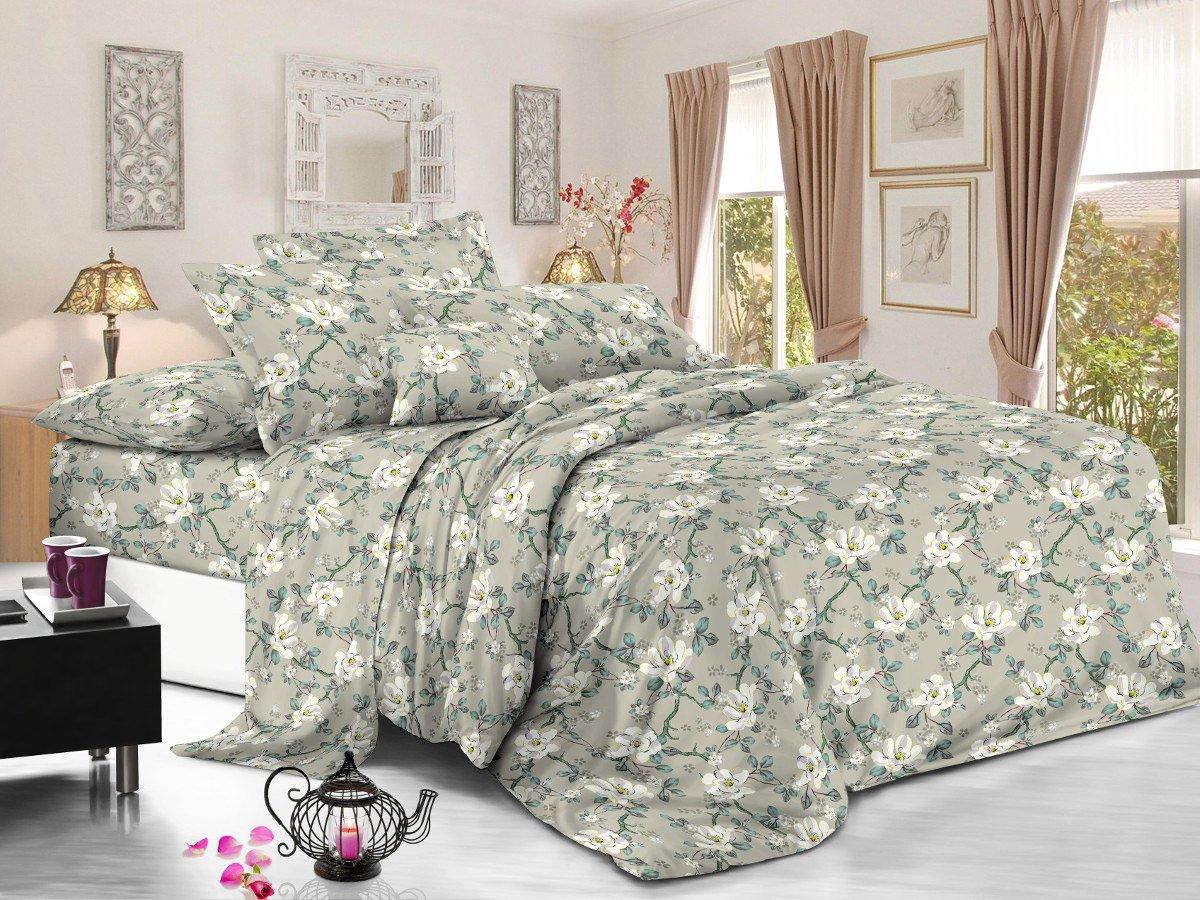 Комплект постельного белья из полисатина 100-PS Cleo