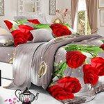 Комплект постельного белья из полисатина 103-PS Cleo