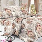 Комплект постельного белья из полисатина 104-PS Cleo