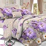 Комплект постельного белья из полисатина 106-PS Cleo