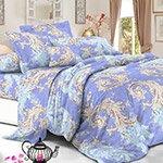 Комплект постельного белья из полисатина 110-PS Cleo