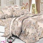 Комплект постельного белья из полисатина 113-PS Cleo