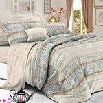 Комплект постельного белья из полисатина 114-PS Cleo