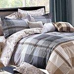 Комплект постельного белья из сатина SK-306 Cleo