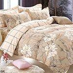 Комплект постельного белья из сатина SK-307 Cleo