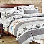 Комплект постельного белья из сатина SK-317 Cleo