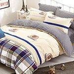 Комплект постельного белья из сатина SK-335 Cleo