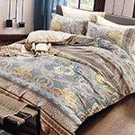 Комплект постельного белья из сатина SK-338 Cleo