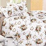 Комплект постельного белья из сатина SK-345 Cleo