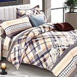 Комплект постельного белья из сатина SK-350 Cleo