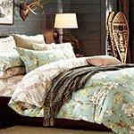 Комплект постельного белья из сатина SL-137 Cleo