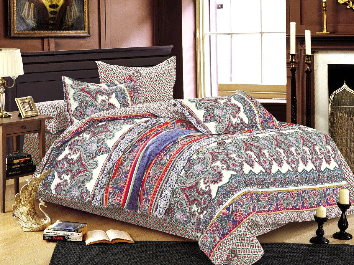 Комплект постельного белья из сатина SL-138 Cleo