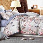 Комплект постельного белья из сатина SL-139 Cleo