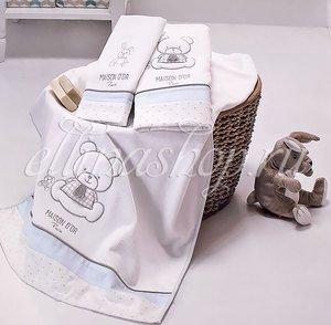 Dear panda Мишка и зайка комплект детских полотенец