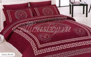 Gunes бордовый постельное белье из бамбука Karven