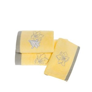 Комплект махровых полотенец (30x50 3шт) Lilium Soft