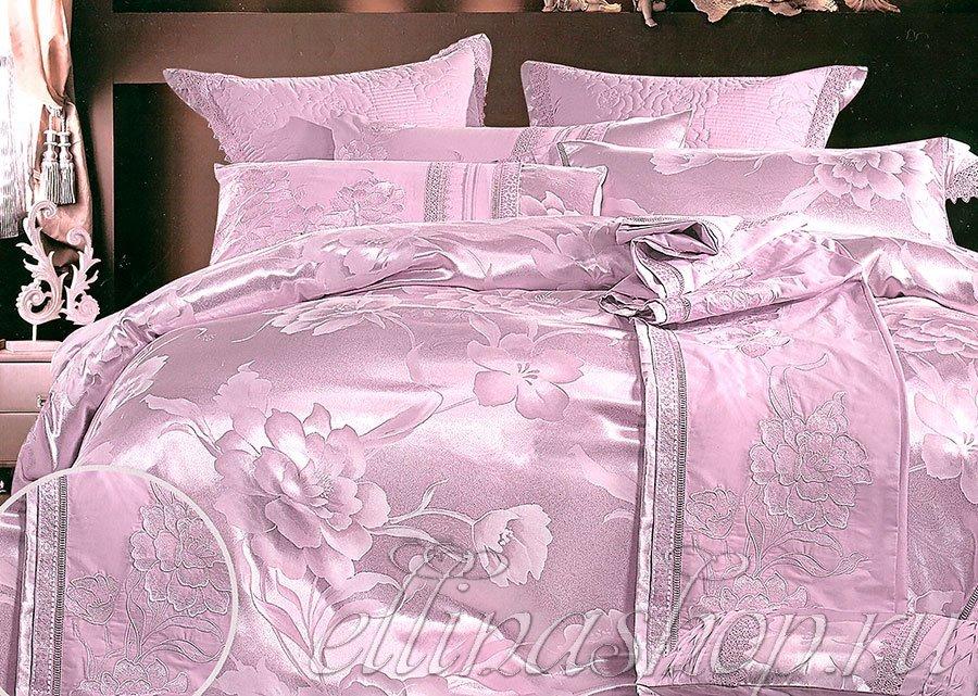 JB-032 Romance комплект жаккардового белья с вышивкой Afrodita